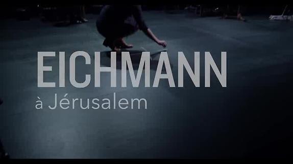 """Vidéo """"Eichmann à Jérusalem, ..."""" - Théâtre Majâz - Bande-annonce"""
