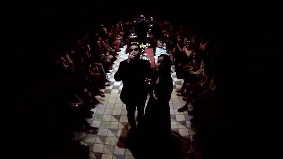 """Image du spectacle """"La dispute"""", mise en scène de Richard Brunel"""