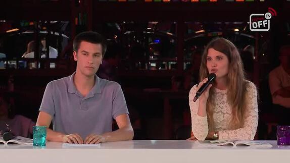 """Vidéo """"Le journal d'un fou"""" - itv Savannah Macé, Antoine Robinet - Avignon Off 2014"""