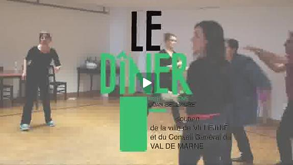 """Vidéo """"Le Dîner"""", m.e.s. Joan Bellviure - Bande-annonce"""