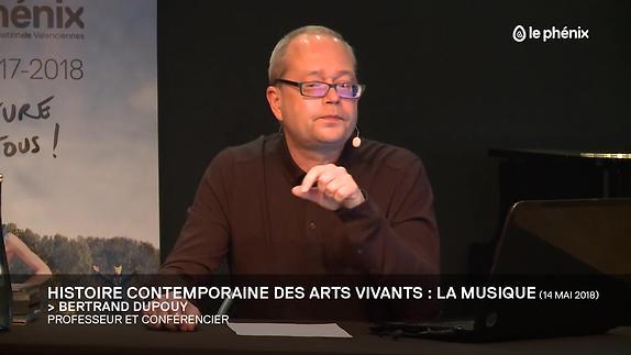 Vidéo Histoire contemporaine des arts vivants > la musique 2/2