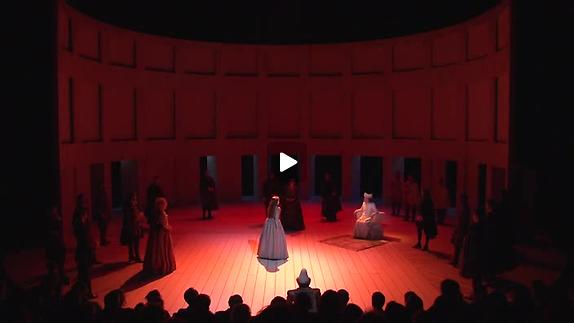 "Vidéo ""Le Roi Lear"" de Shakespeare, m.e.s. Christian Schiaretti, teaser"