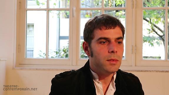 """Vidéo Nathanaël Frérot, """"Les chemins de l'écriture"""""""