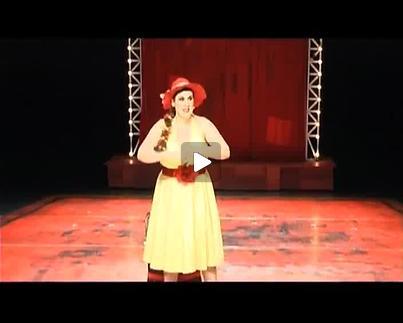 "Vidéo ""Promesses – Cabaret Hanokh Levin"", m.e.s. G. Freixe, extraits"