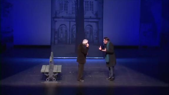 "Vidéo Jean-Claude Grumberg, ""Ça va ?"", m.e.s. Daniel Benoin, teaser"