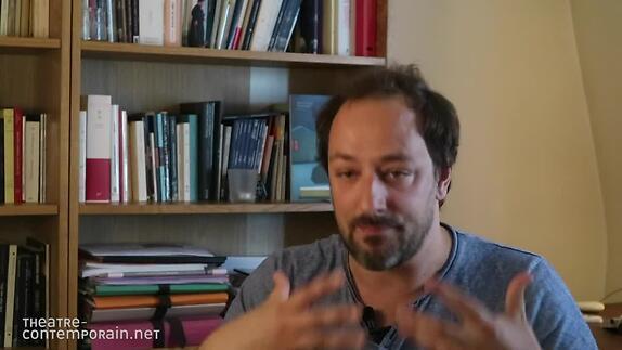 """Vidéo """"Visions d'Eskandar"""", présentation par Samuel Gallet"""