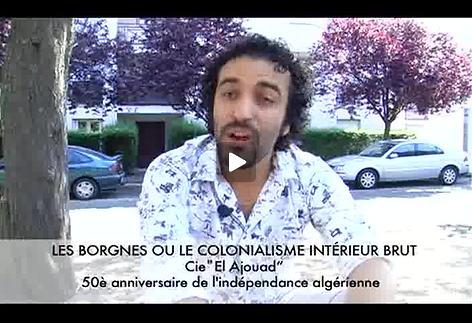 "Vidéo ""Les Borgnes..."", présentation par Kheireddine Lardjam"