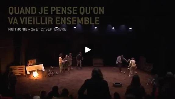 """Vidéo """"Quand je pense que l'on va vieillir ensemble"""", Les Chiens de Navarre, extraits"""