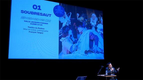 Vidéo Festival Théâtre en mai 2018, présentation par Benoît Lambert
