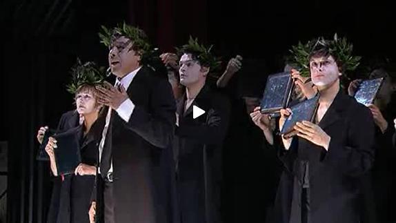 Vidéo L'Orestie d'Eschyle, texte français et ms Olivier Py - Bande-annonce