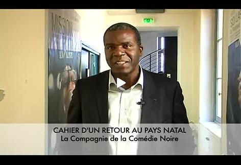 """Vidéo """"Cahier d'un retour au pays natal"""", présentation par Jacques Martial"""