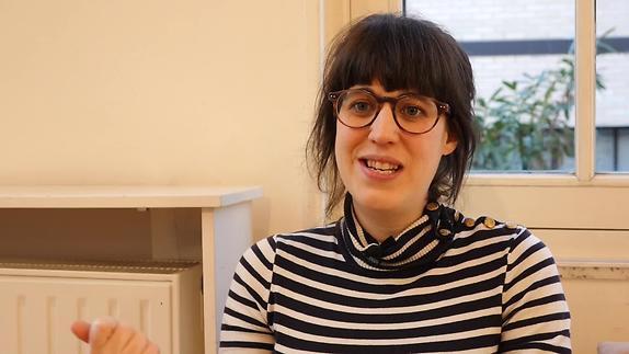 """Vidéo Sarah Berthiaume, """"L'appropriation du texte"""""""