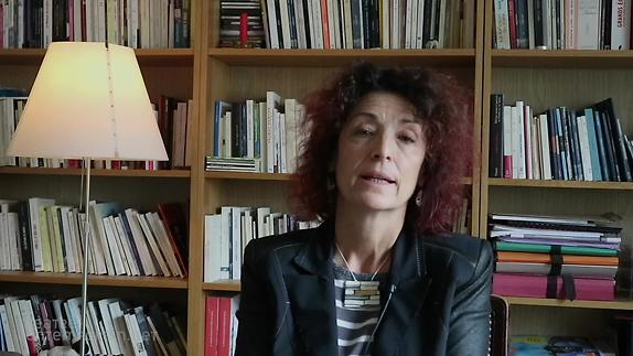 """Vidéo Nathalie Papin, """"Debout"""", présentation"""