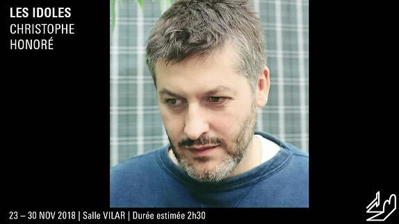 """Vidéo """"Les Idoles"""", Christophe Honoré présentation par Arthur Nauzyciel"""
