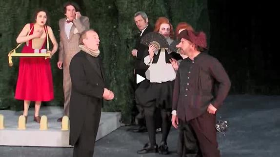"Vidéo ""Cyrano de Bergerac"", m.e.s. Georges Lavaudant, extraits"
