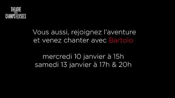 """Vidéo """"Un Barbier"""", m.e.s. Damien Robert au Théâtre des Champs Elysées"""
