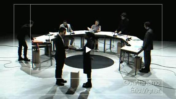 "Vidéo ""Guantanamo"", m.e.s. Éric Vigner, extraits"