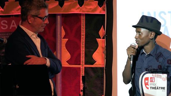 Vidéo Prix RFI Théâtre 2016, Hakim Bah
