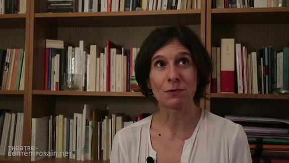 """Vidéo """"66 pulsations par minute"""", Pauline Sales, écrire pour les acteurs"""