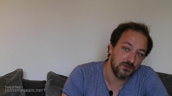 """Vidéo Samuel Gallet -  """"L'écriture au jour le jour"""""""
