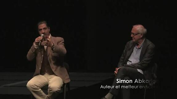 """Vidéo """"Le Dernier jour du jeûne"""", présentation de Simon Abkarian"""