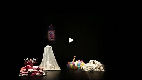 """Vidéo """"Qui rira verra"""" de N. Papin, m.e.s. J. Wacquiez - Extraits"""