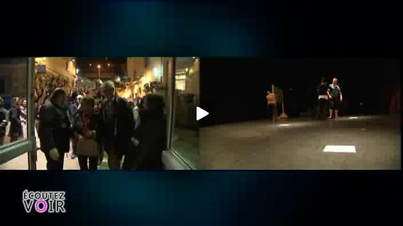 """Vidéo """"Déplacés"""", conception Matthieu Loos - Reportage"""