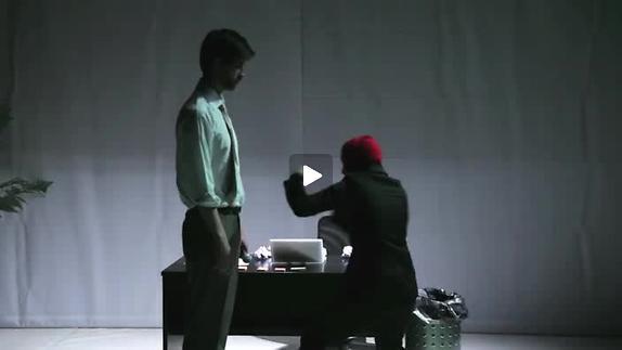 """Vidéo """"Burnout"""" de A. Badea, m.e.s. Jonathan Michel, bande-annonce"""