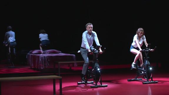 "Image du spectacle Molière, ""L'Ecole des femmes"", Stéphane Brauschweig, teaser"