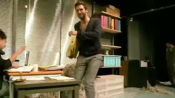 """Vidéo """"L'homme à tiroirs"""" de Jean-Yves Ruf, les répétitions"""
