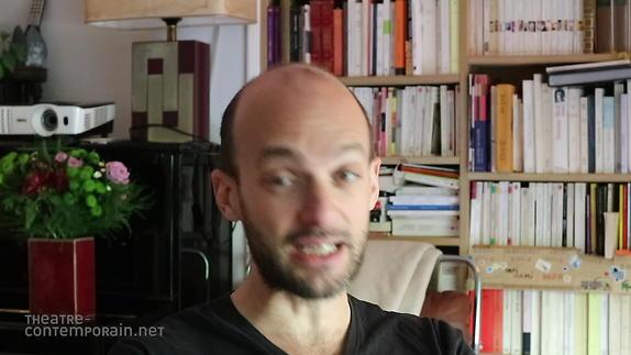 """Vidéo David Geselson, """"L'écriture au jour le jour"""""""