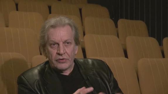 """Image du spectacle Jean-Paul Wenzel, """"Le premier texte de théâtre"""""""