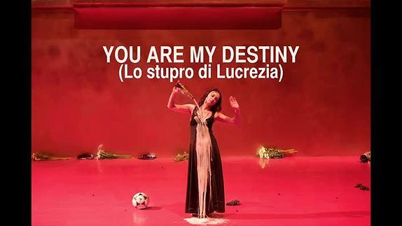 "Vidéo ""You Are My Destiny (Lo stupro di Lucrezia)"", d'Angélica Liddell, teaser"