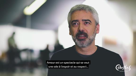 "Vidéo ""Amour"", m.e.s. Eliza Sanz - Entretien avec Jokin Oreji"