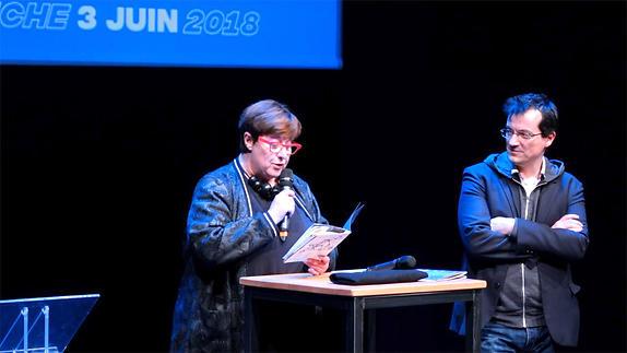 Vidéo Festival Théâtre en mai 2018, interventions des partenaires publiques