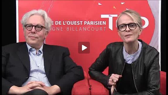 "Vidéo ""Coupes sombres"", entretien avec Guy Zilberstein et Anne Kessler"