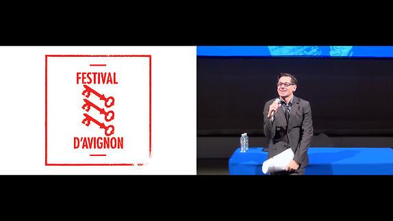 Vidéo Conférence de presse du 69e Festival d'Avignon, présentation par Olivier Py