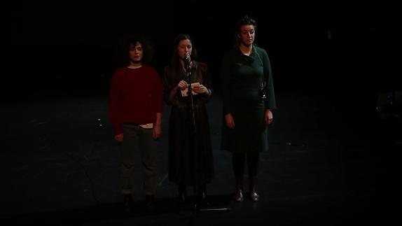 "Vidéo ""Éducation sentimentale / Roman performance"", m.e.s. Hugo Mallon -Teaser"