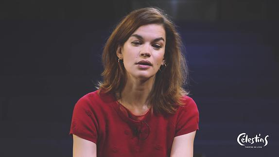 """Vidéo """"La Dame aux camélias"""", m.e.s A. Nauzyciel - Entretien avec Marie-Sophie Ferdane"""