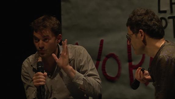 """Image du spectacle """"La Maison"""" - Dialogue entre Julien Gaillard et Wajdi Mouawad"""