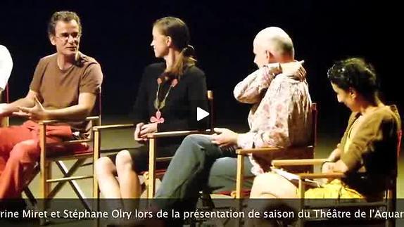 """Vidéo """"Les Arpenteurs"""", présentation par Corine Miret et Stéphane Olry"""
