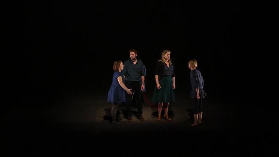 """Image du spectacle """"Trois petites soeurs"""" - Suzanne Lebeau/Gervais Gaudreault - Teaser"""