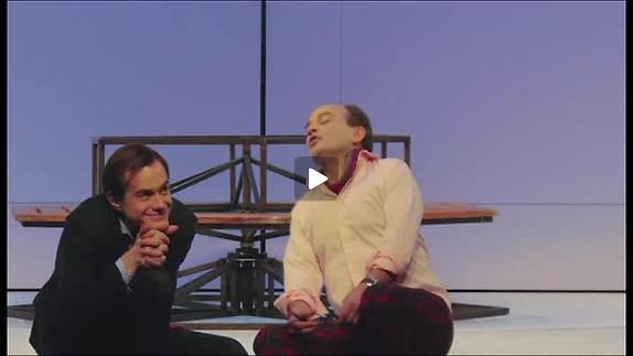 "Vidéo ""Le Jeu de l'amour et du hasard"" m.e.s. L. Laffargue, entretien avec G. Bigot"