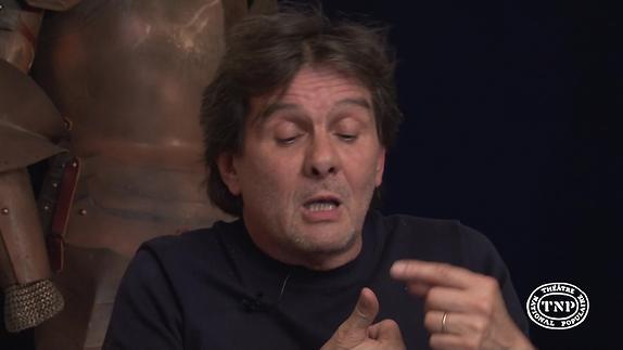 """Image du spectacle """"La Voix humaine"""" - Interview de Christian Schiaretti, directeur du TNP"""
