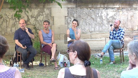 """Vidéo """"La Fille de Mars"""", dialogue artistes-spectateurs"""