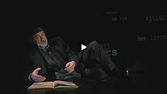 Vidéo Gary / Ajar, m.e.s. Christophe Malavoy - Bande-annonce