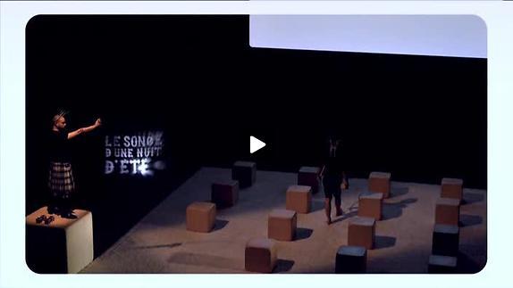 """Vidéo """"Le songe d'une nuit d'été"""", m.e.s. D. Gauchard, teaser"""
