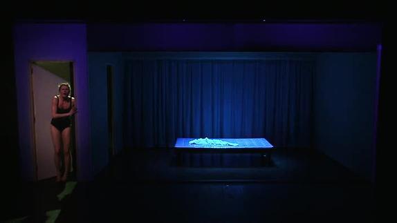 """Vidéo """"Le Regard du nageur"""" de C. Tual, m.e.s. L. Spycher et L. Lagarde, teaser"""