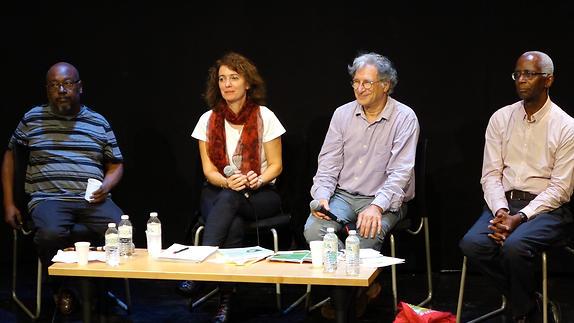 Vidéo Carte blanche à 4 auteurs francophones, questions / Midi-minuit BFM Limoges
