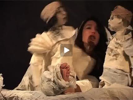 """Vidéo """"Les mains de Camille..."""", images de répétitions et entretien"""